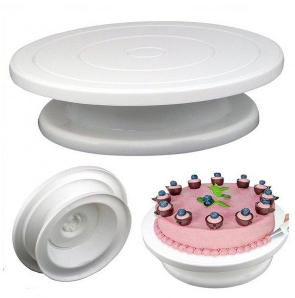 Вращающаяся платформа для торта (5 цветов)