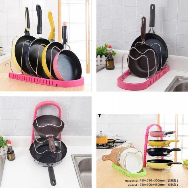 Складной держатель для посуды от JYPS (3 цвета)