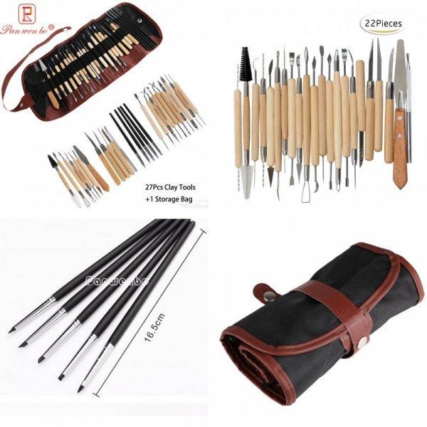 Набор инструментов для работы с глиной