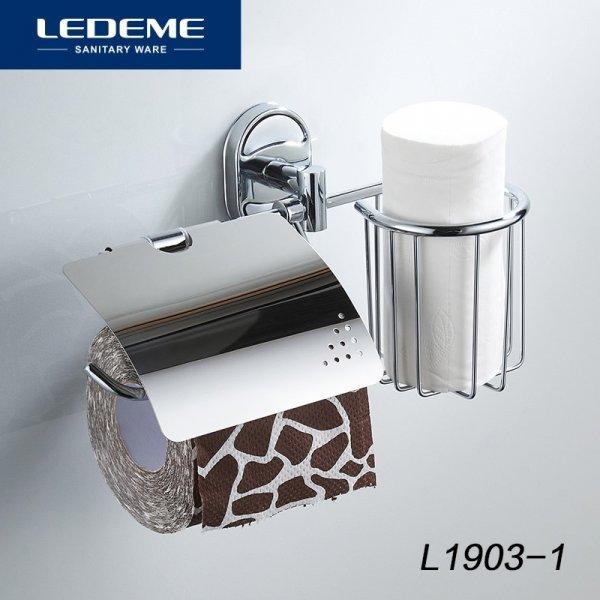 Держатель туалетной бумаги и освежителя LEDEME