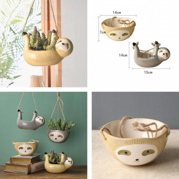 Керамические ленивцы
