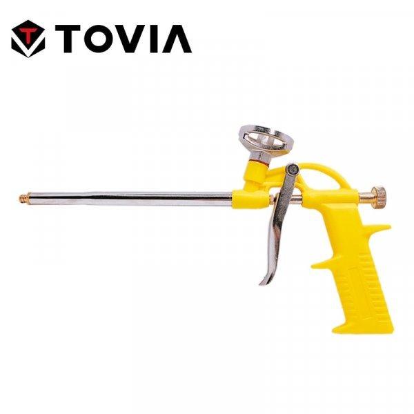 Отличный пистолет для монтажной пены TOVIA