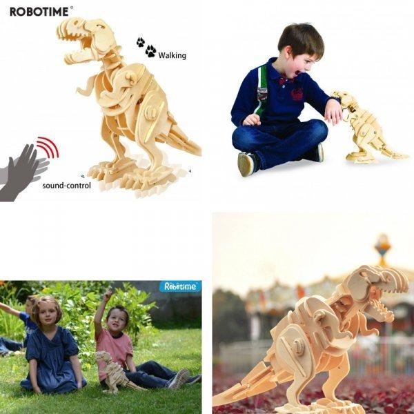Динозавр со звуковым управлением