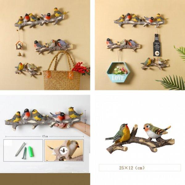 Креативная вешалка Птицы от (3 вида)