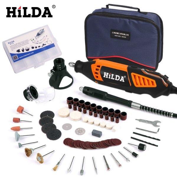 Электрическая минидрель от HILDA (180 Вт)