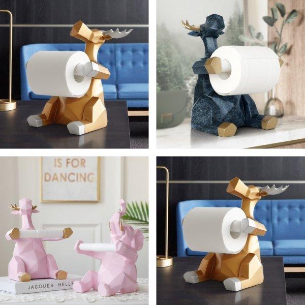 Креативный держатель для туалетной бумаги