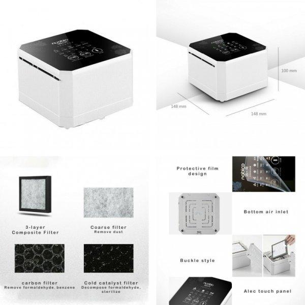 Компактный ионизатор для спальни Nobico