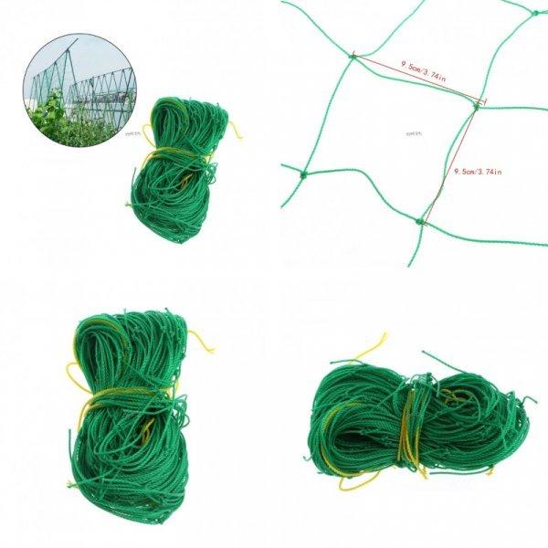 Нейлоновая решетчатая сетка для поддержки растений (0.9 * 1.8 м)