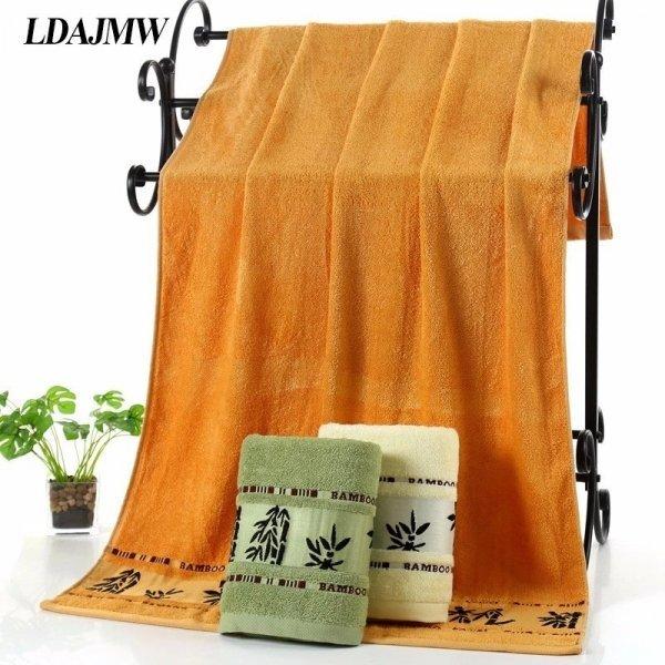 Большое полотенце из бамбукового волокна от LDAJMW (3 цвета)