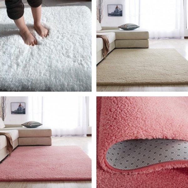 Белоснежный коврик в гостиную (9 цветов, 8 размеов)