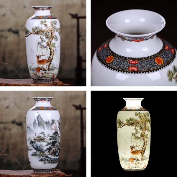 Декоративная ваза в китайском стиле