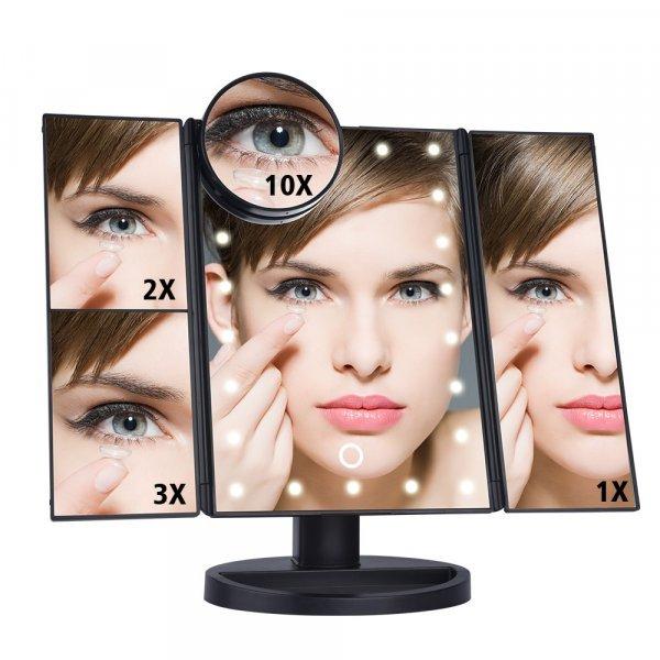 Светодиодное зеркало с сенсорным экраном от Ms.Dear (3 цвета)