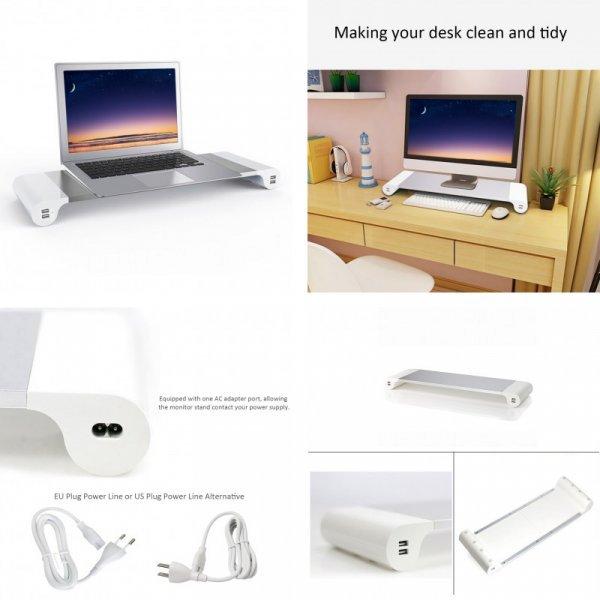 Стенд для монитора с USB-портами от AREALER
