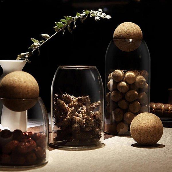 Банки с крышками для хранения сыпучих продуктов (19 видов)