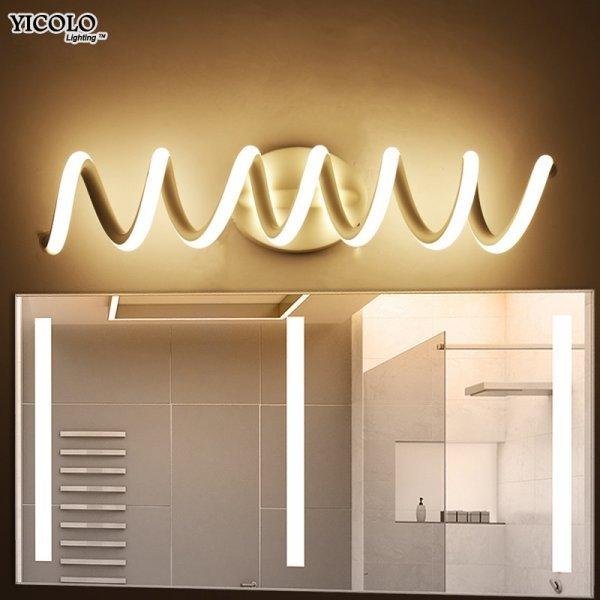 Стильный светильник на стену ванной Mavesan (3 размера)