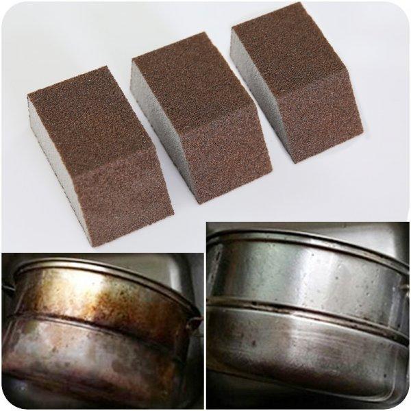 Губка-антижир для посуды и барбекю отмоет неотмываемое (4.2*2.5 см)