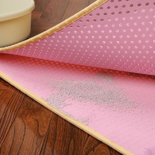 Противоскользящий коврик (двухсторонний, 6 цветов, 4 размера)