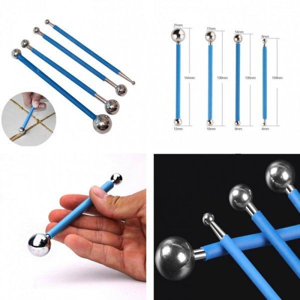 Набор инструментов для затирки швов (4 шт)