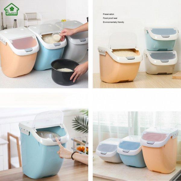 Емкости для хранения продуктов от PAWACA (3 размера, 3 цвета)