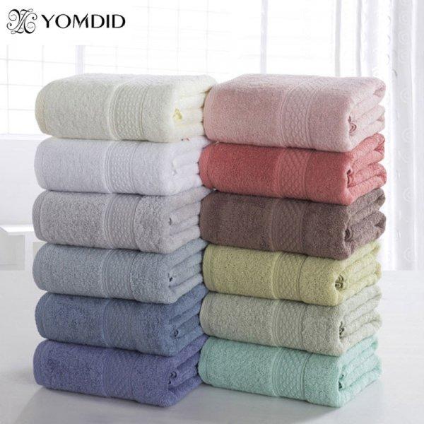 Нежное банное полотенце YOMDID (17 цветов, 70*140 см)