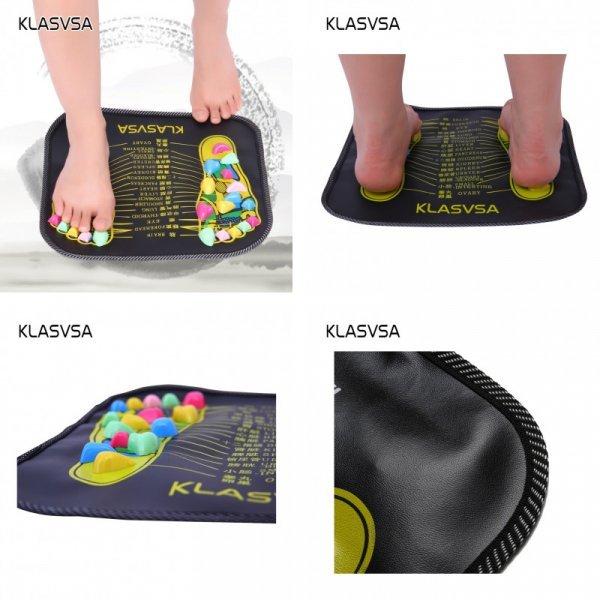 Массажный коврик снимет усталость ног KLASVSA