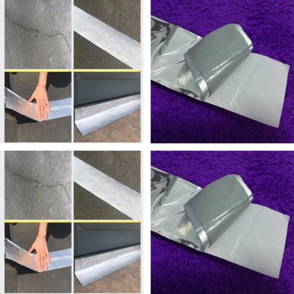 Алюминиевая универсальная  изоляционная лента (30 см, 5 м)