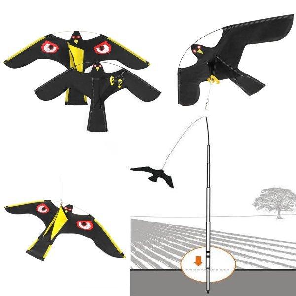 Отпугиватель птиц на участке (2 цвета, 2 размера)