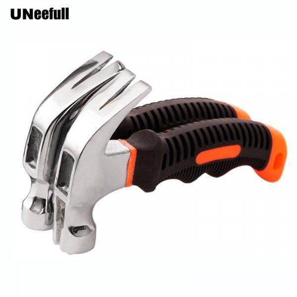Молоток с гвоздодером для мелких работ по дому UNeefull (11*16.4 см)