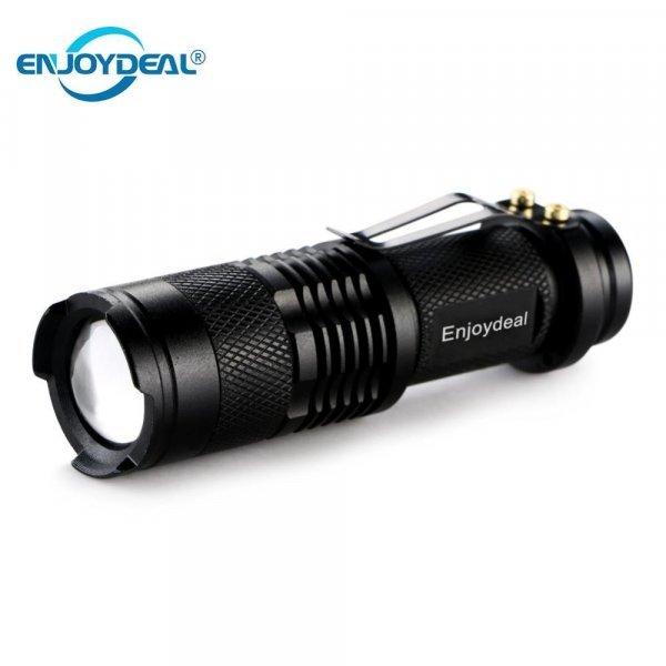 Карманный светодиодный фонарик на аккумуляторах Enjoydeal (2000LM)
