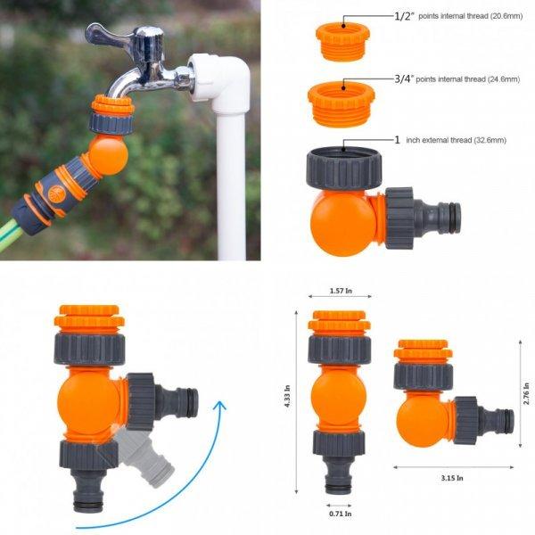 Вращающийся водопроводный разветвитель