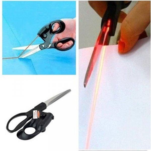 Ножницы с лазерной направляющей от OUTAD