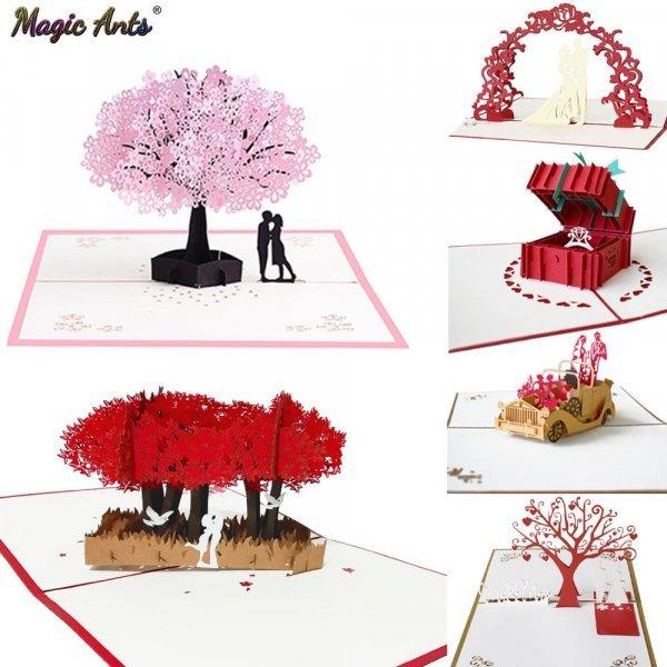 3D открытки от MAGIC ANTS (в ассотритменте)