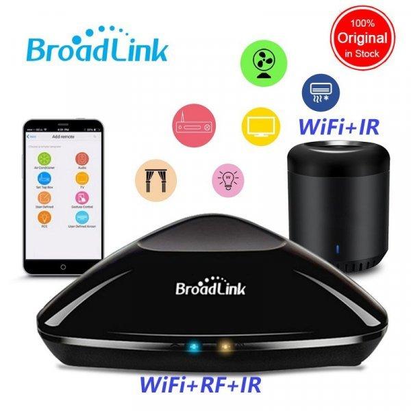 Универсальный  ИК+RF+WiFi пульт дистанционного управления от BROADLINK