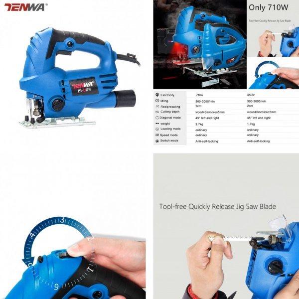 Электролобзик Tenwa 710 Вт