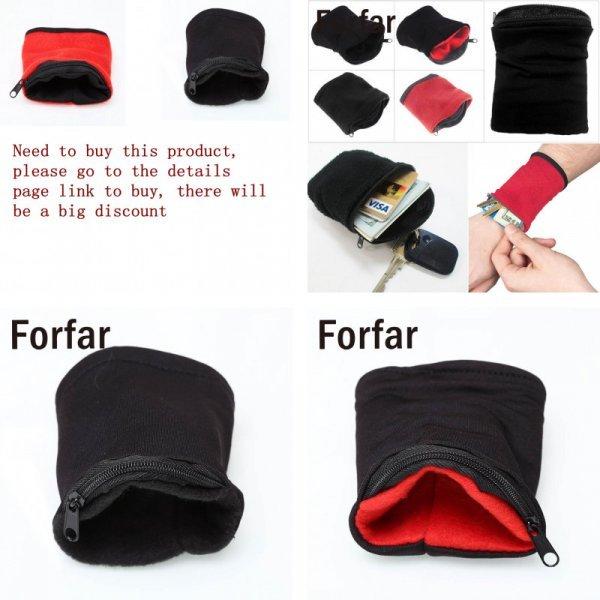 Туристический бумажник для мелочей Forfar (2 цвета)