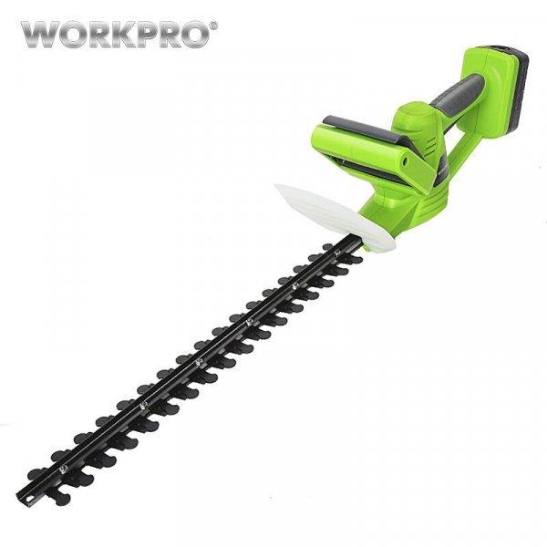 Электрический триммер для стрижки изгородей от WORKPRO