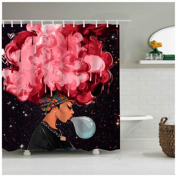 Яркая шторка в ванну Sea&cloud (25 дизайнов)
