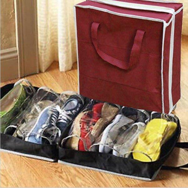 Складной пылезащитный чехол для обуви VESNAHOME (1 шт, 2 цвета)