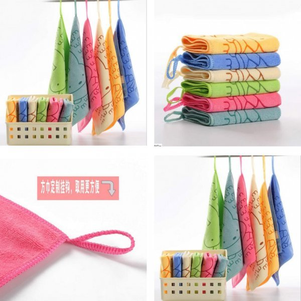 Абсорбирующие салфетки для кухни от LOVELY STORE (6 цветов)