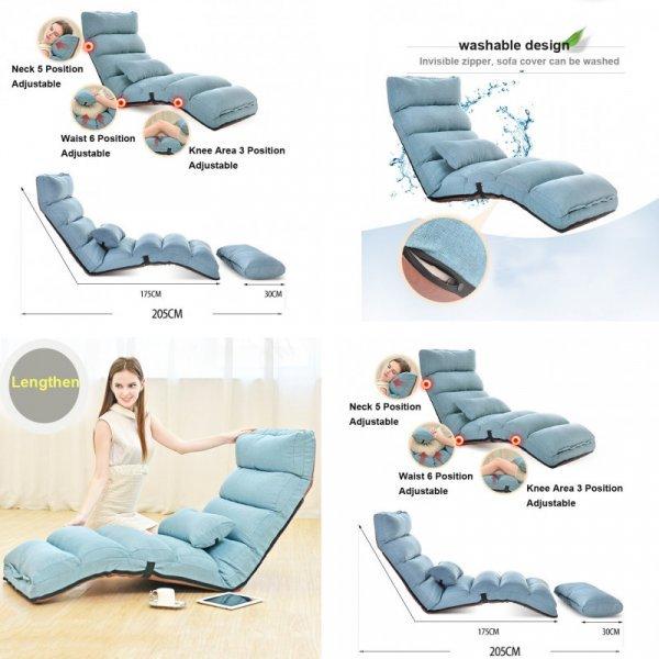 Потрясающее раскладное кресло-лежак для ленивых
