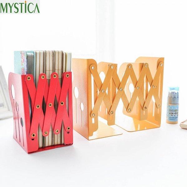 Раздвижная книжная полка MYSTICA (4 цвета, металл)