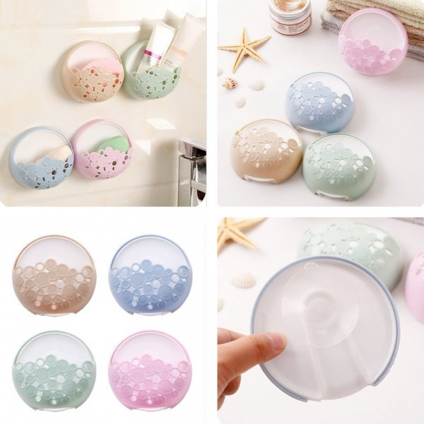 Настенная мыльница не только для мыла (4 цвета)