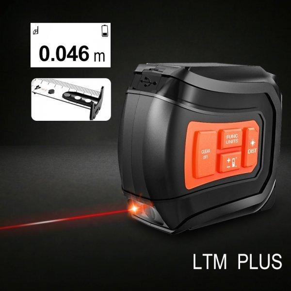 Рулетка-дальномер с ЖК экраном от LOMVUM (в ассортименте)