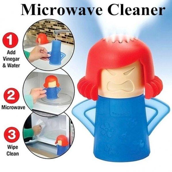 Очиститель для микроволновок LISM (пар, 4 цвета)