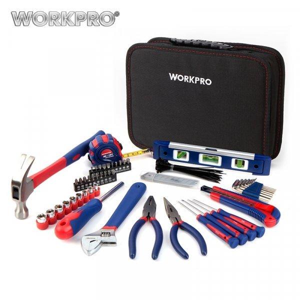 Минимальный набор для ремонта от WORKPRO (100 предметов)