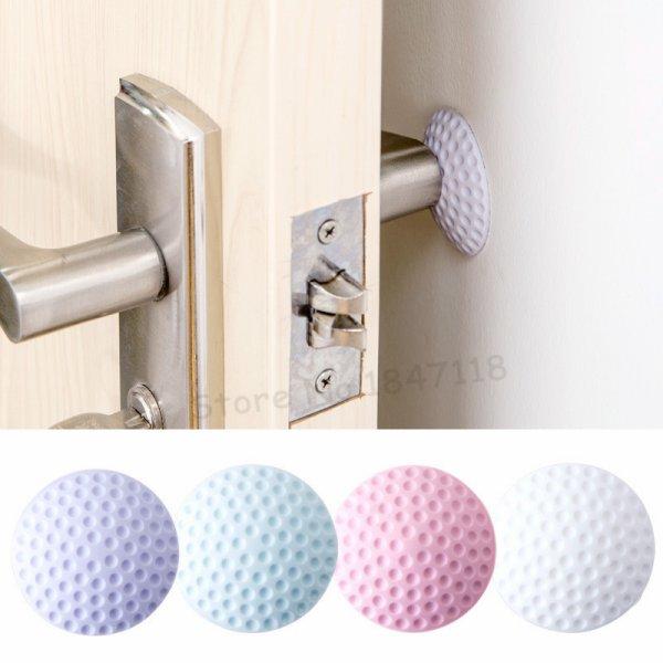 Настенные упоры для дверных ручек, чтобы не бились об стену (4 шт.)