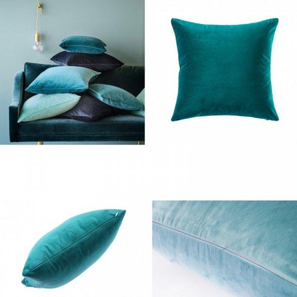 Роскошный чехол на подушку ESSIE HOME (бархат, 4 цвета, 45*45 см, 50*50 см, 60*60 см, 30*50 см)