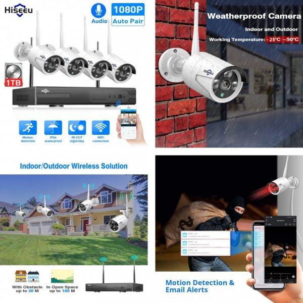 Система видеонаблюдения от HISEEU