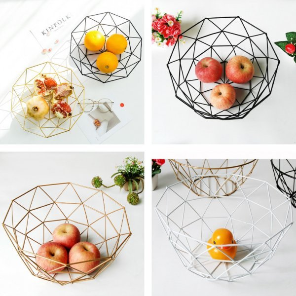 Стильная посуда для фруктов Kinfolk (3 цвета, 2 размера)