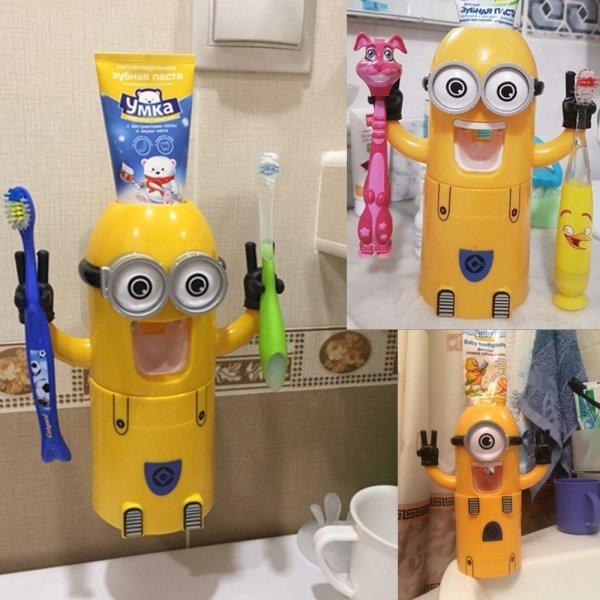 Веселый дозатор для зубной пасты